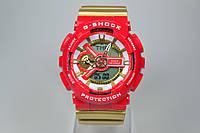 Casio G-Shock GA-110 Gold-Red
