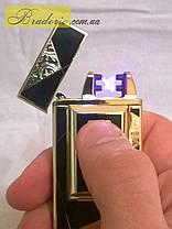 Электроимпульсная USB зажигалка Tiger 4676, фото 2