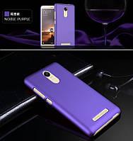 Пластиковый чехол для Xiaomi Redmi Note 3 фиолетовый, фото 1
