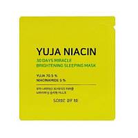 Some By Mi Yuja Niacin Brightening Sleeping Mask Яскрава нічна маска