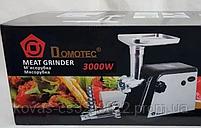 Мясорубка с соковыжималкой для томатов Domotec MS-2023 - 3000Вт, фото 6
