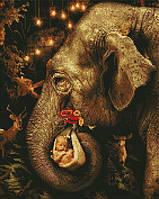 Алмазна мозаїка ArtStory Чарівний слон 40*50см в коробці