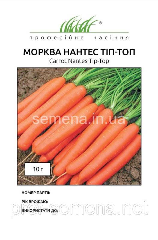 Морква Нантес Тіп Топ 10 г.