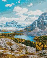 Алмазна мозаїка ArtStory Озеро в горах 40*50см в коробці