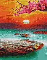 Алмазна мозаїка ArtStory Сакура 40*50см в коробці