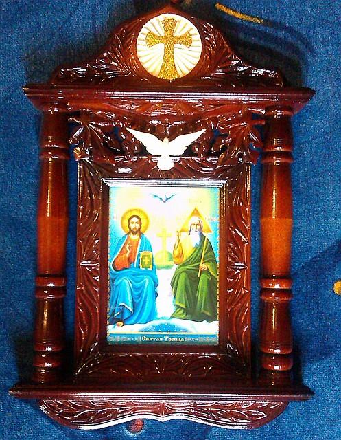 """Ікона в кіоті """"Пресвята Трійця"""""""