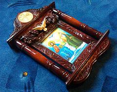 """Ікона в кіоті """"Пресвята Трійця"""", фото 2"""
