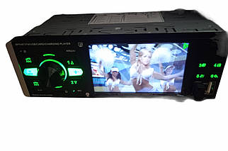 Автомагнітола 1DIN MP5 (1USB, 2USB-зарядка, TF card, bluetooth) VIDEO AUX