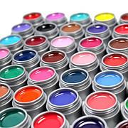 Гелевые краски для декора ногтей
