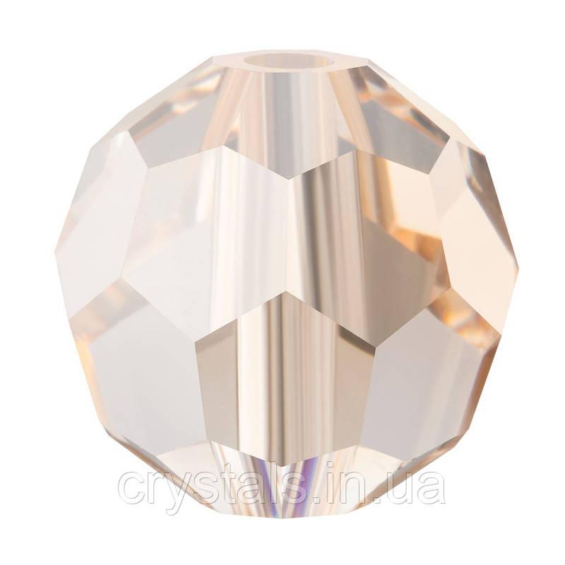 Круглые хрустальные бусины Preciosa (Чехия) 8 мм Crystal Honey