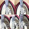 Мужские кеды VANS BORDO бордовые красные замшевые деми демисезон Чоловічі кеди бордові червоні, фото 4