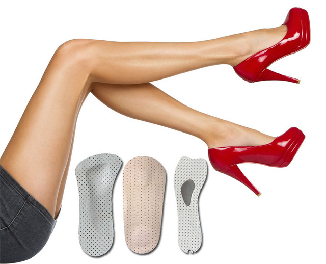 Мягкие стельки, полустельки для модельной обуви