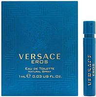 Пробник Versace Eros Man 1 ml Оригінал