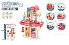 Детская кухня для девочек Kitchen с водой и паром 42 аксессуаров 53 см, фото 2