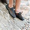 Сірі аквашузи чоловічі і жіночі коралкі акваобувь шльопанці для моря аква взуття сліпони мокасини на море пляж, фото 4