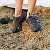 Сірі аквашузи чоловічі і жіночі коралкі акваобувь шльопанці для моря аква взуття сліпони мокасини на море пляж, фото 5