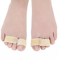 Эластичная бандаж лента при искривлении, ушибах, переломах пальцев рук (ног), размер универсальный, 1 шт.