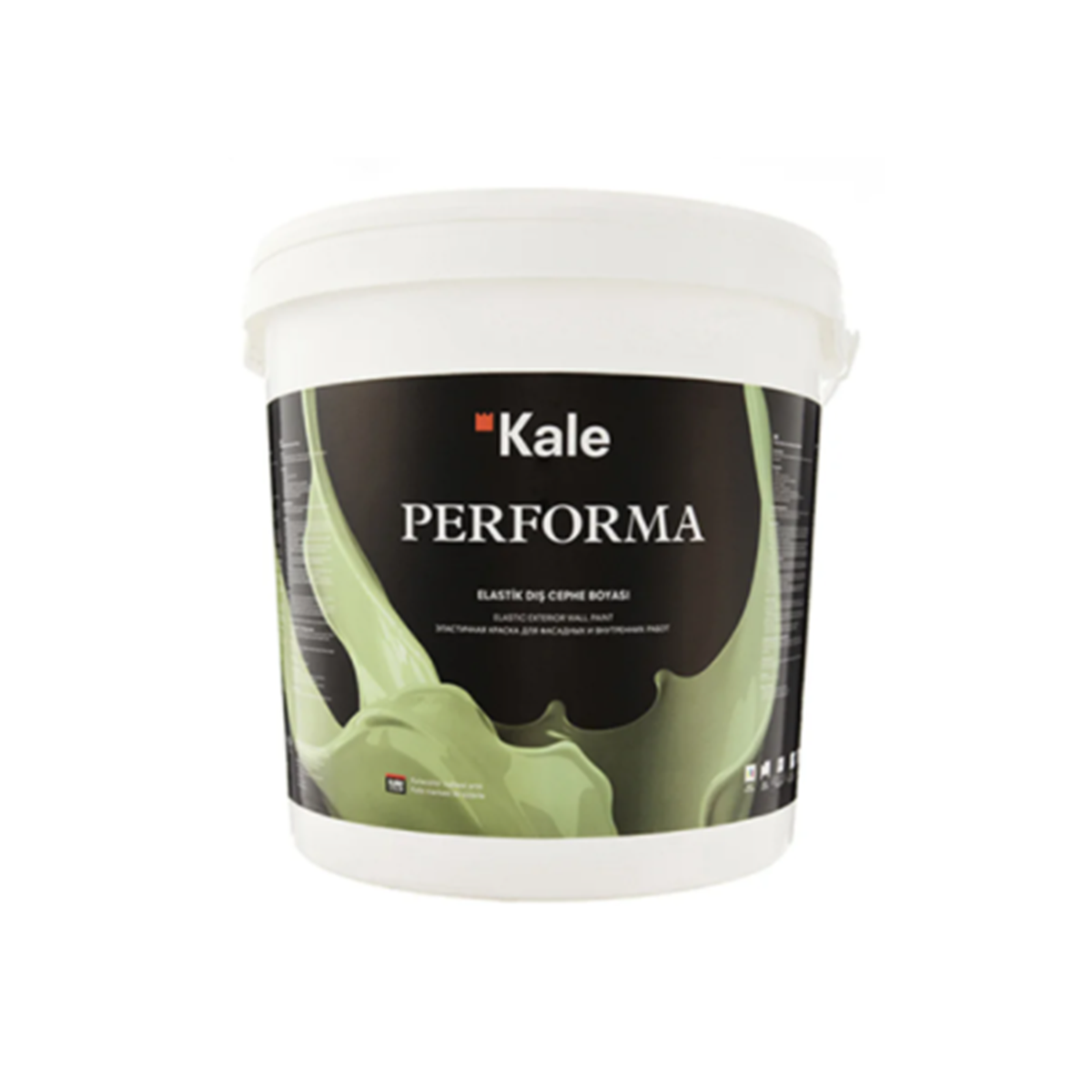 Еластична фарба фасадна Kale Performa 15л