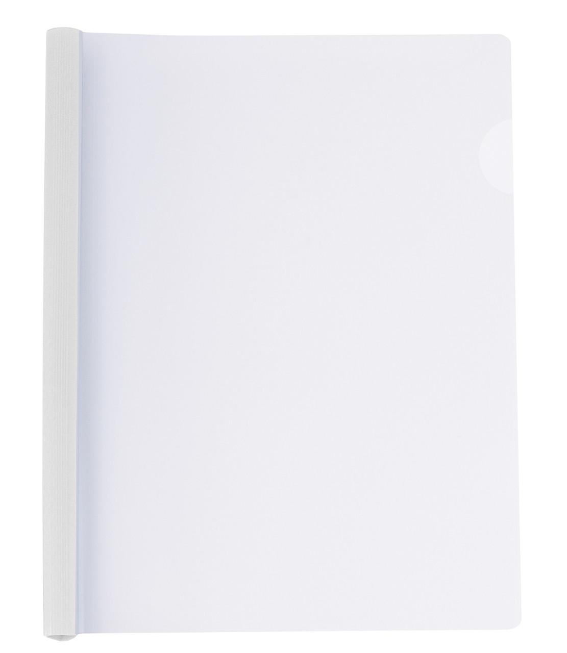 Папка-швидкозшивач А4 Economix пластикова планкою з притиском 8 мм (2-65 аркушів) 31205