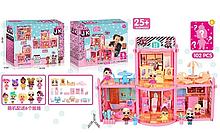 Игровой кукольный домик ЛОЛ ВВ 008 с мебелью , 6 куколок