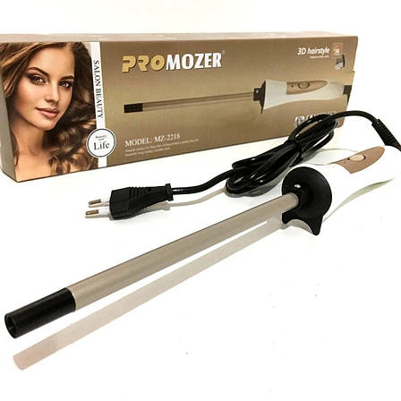 Плойка для завивки волосся ProMozer 9 мм — MZ 2218, фото 2