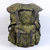 Вмістимий камуфляжний  туристичний  рюкзак  на  75л(Піксель)