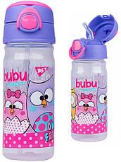 """Набор """"Owl - Совы"""".  Бутылочка с трубочкой и Ланчбокс (контейнер) для завтрака, фото 3"""