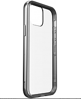 Чехол бампер Laut EXOFRAME Silver для iPhone 11