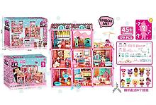 Игровой кукольный домик ЛОЛ ВВ 006 с мебелью ,8 кукол