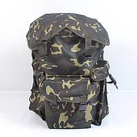 Вмістимий камуфляжний  туристичний  рюкзак  на  75л(Хаккі)