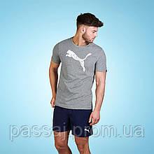 Сіра футболка puma оригінал нова xl