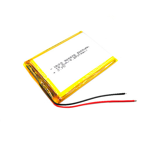 Акумулятор 905575 Li-pol 3.7 В 5000мАч для Powerbank, планшетів, GPS