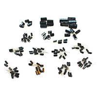 120x Конденсатор електролітичний 1-2200мкФ 50В, набір