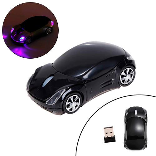 Бездротова миша Porsche, мишка машинка, чорна