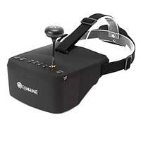 "FPV відео шолом окуляри 5.8 G 40CH RaceBand 5"" 800x480 Eachine EV800, фото 1"