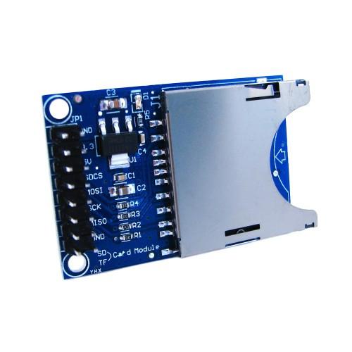Модуль читання запису карт SD, кардрідер, Arduino
