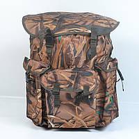 Вмістимий камуфляжний  туристичний  рюкзак  на  75л(Очерет), фото 1