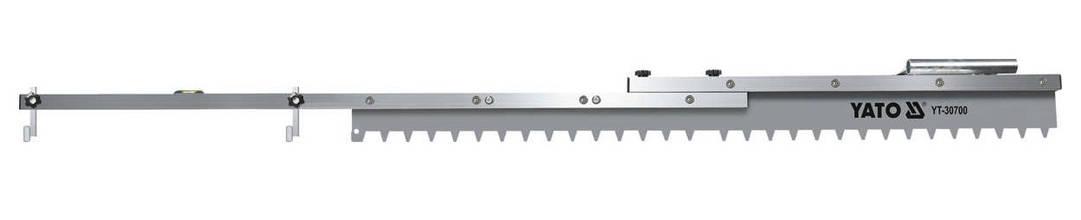 Зубчаста рейка регульованої довжини YATO YT-30700, фото 2