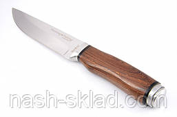 Нож охотничий Сокол, рукоять из дерева Венге, с  эксклюзивными фотографиями, фото 3