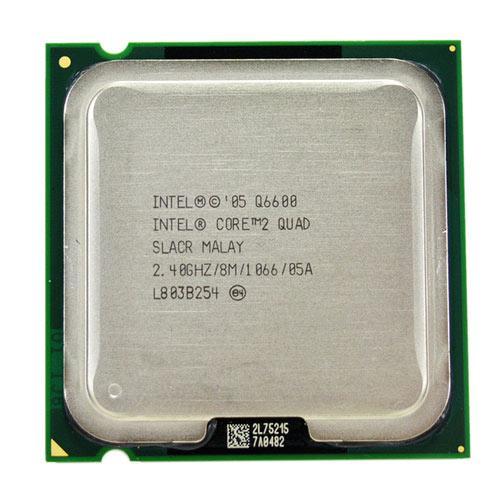 Процесор Intel Core 2 Quad Q6600, 4 ядра, 2.4 ГГц, LGA 775