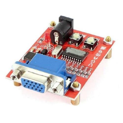 Генератор VGA SVGA XGA сигналу, тестер моніторів