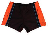 Плавки-шорты для мальчика тёмно-синего цвета, р.32