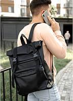 Рюкзак RollTop 0SH2m черный, фото 1