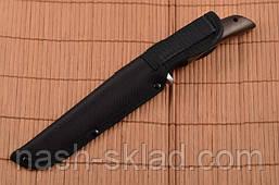 Нож Финка, эксклюзивная модель с упором, рукоять дерево Палисандра , фото 2