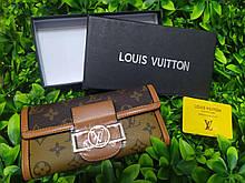 Жіночий гаманець в стилі Louis Vuitton Луї Віттон копія Lux