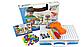 Мозаика для детей 4 в 1, на 193 детали, с шуруповертом, на шурупах, в чемодане, фото 2