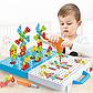 Мозаика для детей 4 в 1, на 193 детали, с шуруповертом, на шурупах, в чемодане, фото 5