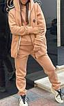 Спортивний костюм теплий 3-ка на флісі (штани, світшот і жилетка), фото 2