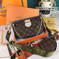 Модная женская сумка Louis Vuitton Луи Витон в коробке