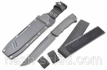 Нож тактический Ворон, спецназначения + передвижной чехол, фото 2